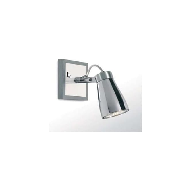 Astro Lighting 01018 Alaska Chrome Halogen Single Spotlight Fitting