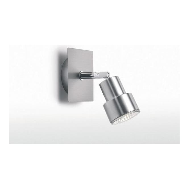 Astro Lighting 0173 Exel Brushed Aluminium Halogen Single Spotlight Fitting