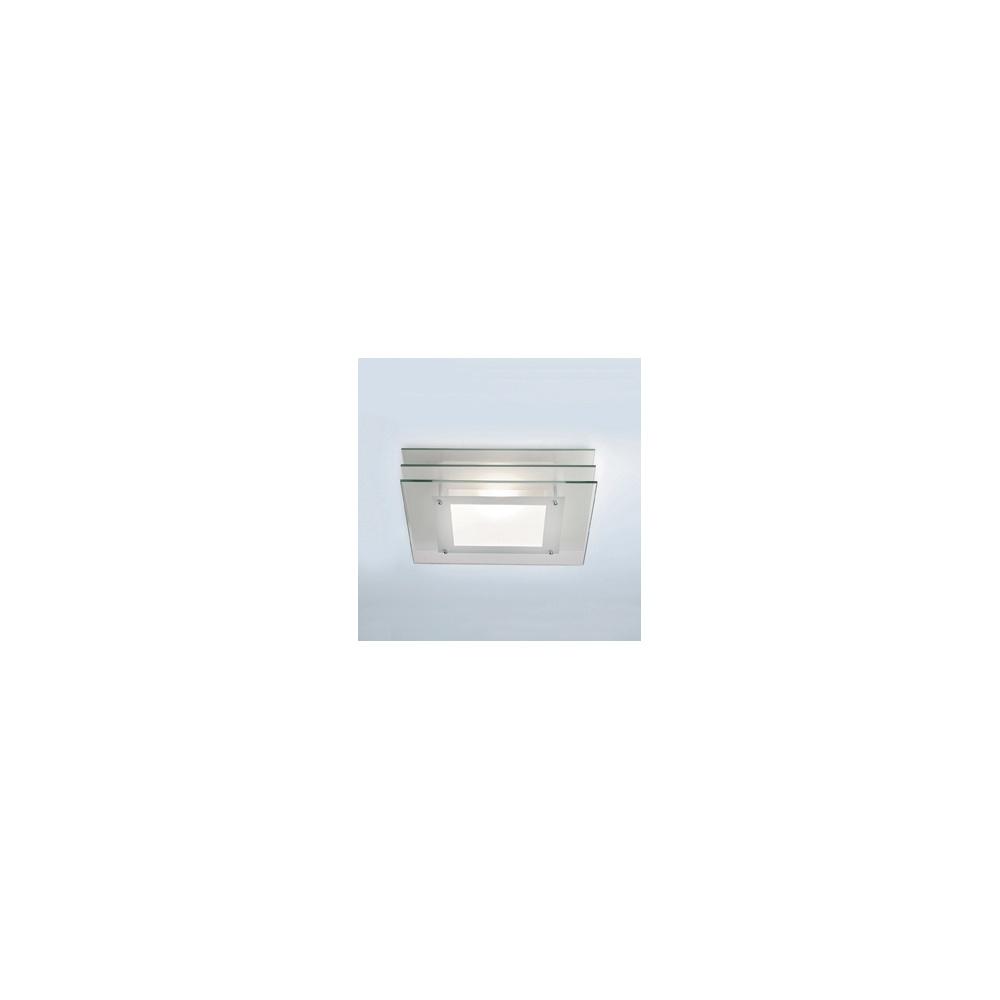Halogen Ceiling Lights For Bathrooms: 0291 Strata Square Halogen Bathroom Ceiling Light, IP44