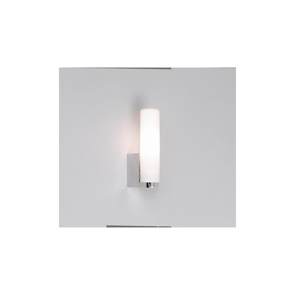 Halogen Bathroom Wall Sconces : Astro Lighting 0327 Tulsa Chrome Halogen Bathroom Wall Light, IP44 - Lighting from The Home ...