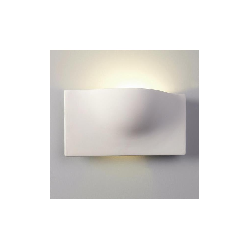 Modern Ceramic Wall Lights : Astro Lighting 0432 Arwin Modern Ceramic Wall Uplighter Light - Astro Lighting from The Home ...