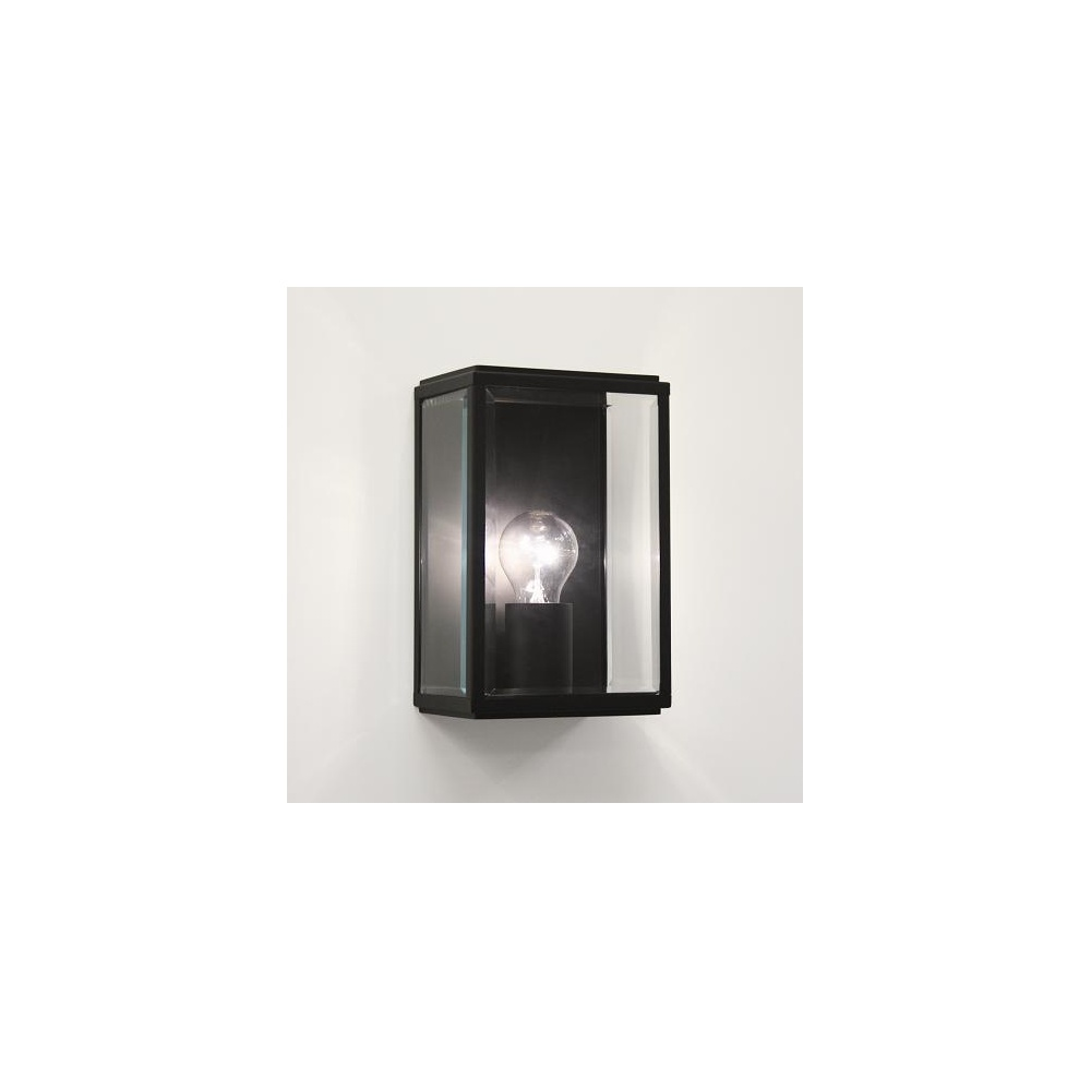 Astro Lighting 0483 Homefield Black Exterior Wall Light, IP44 - Lighting from The Home Lighting ...