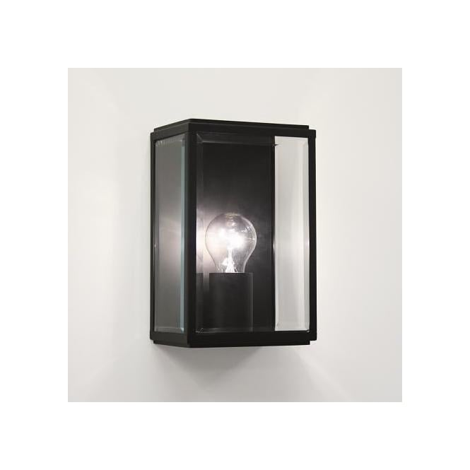 Astro Lighting 0483 Homefield Black Exterior Wall Light, IP44