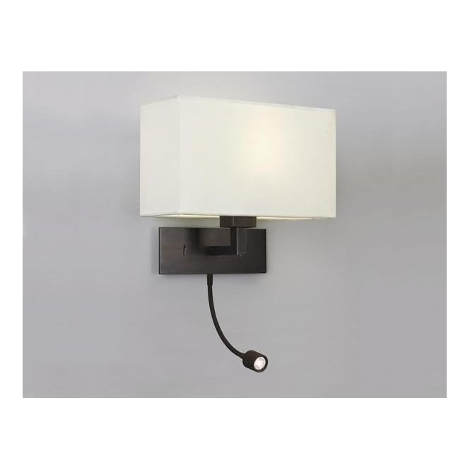 Astro Lighting 0540 Park Lane LED Bronze Wall Bracket, With a Choice of Shades