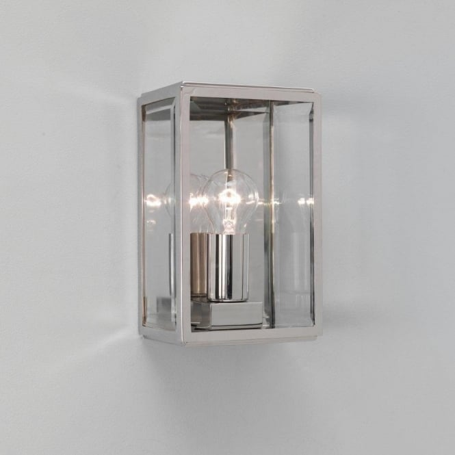 Astro Lighting 0563 Homefield Nickel Exterior Wall Light, IP44