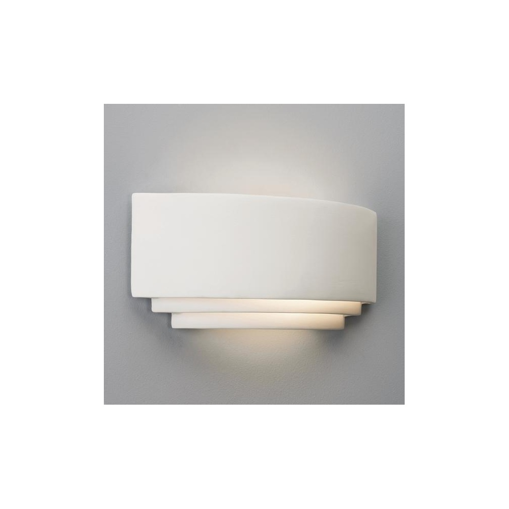 Astro Lighting 0577 Amalfi Plus 370 Art Deco Low Energy Wall Light - Lighting from The Home ...