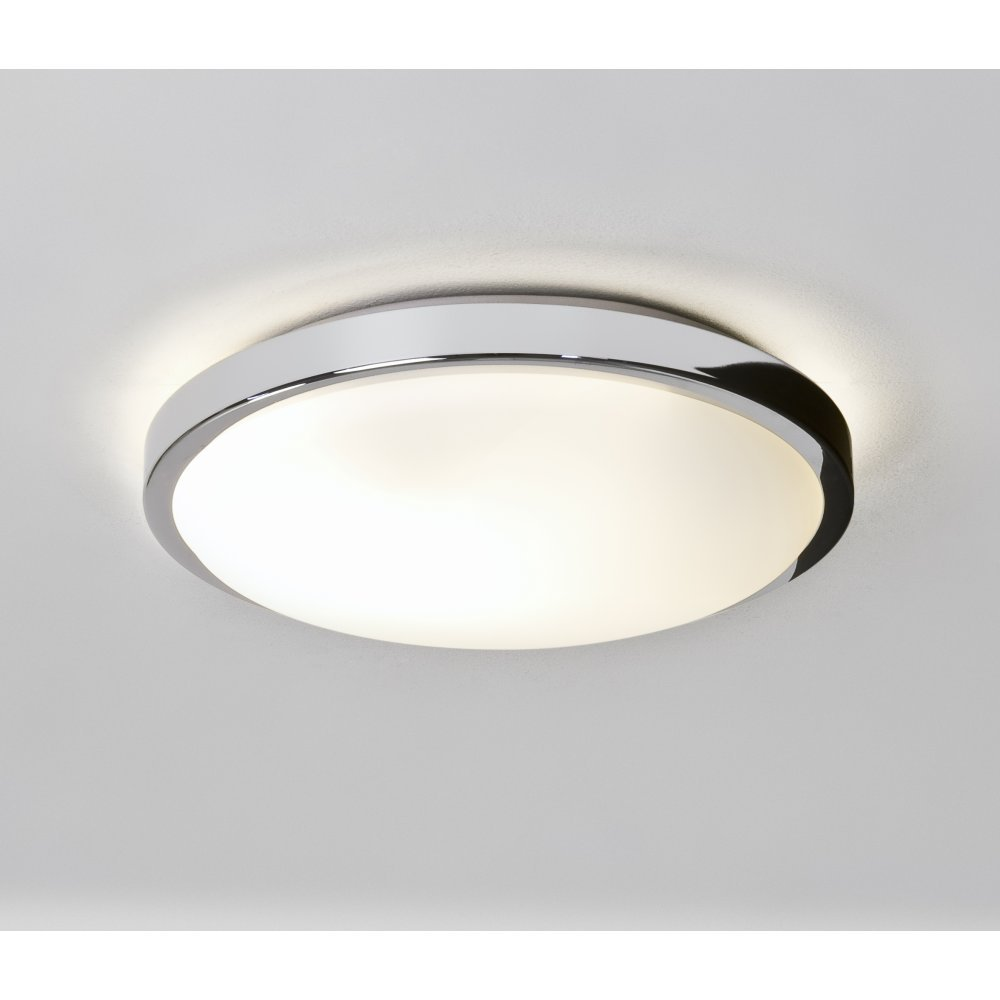 Astro lighting 0587 denia modern flush bathroom ceiling for Contemporary bathroom ceiling lights