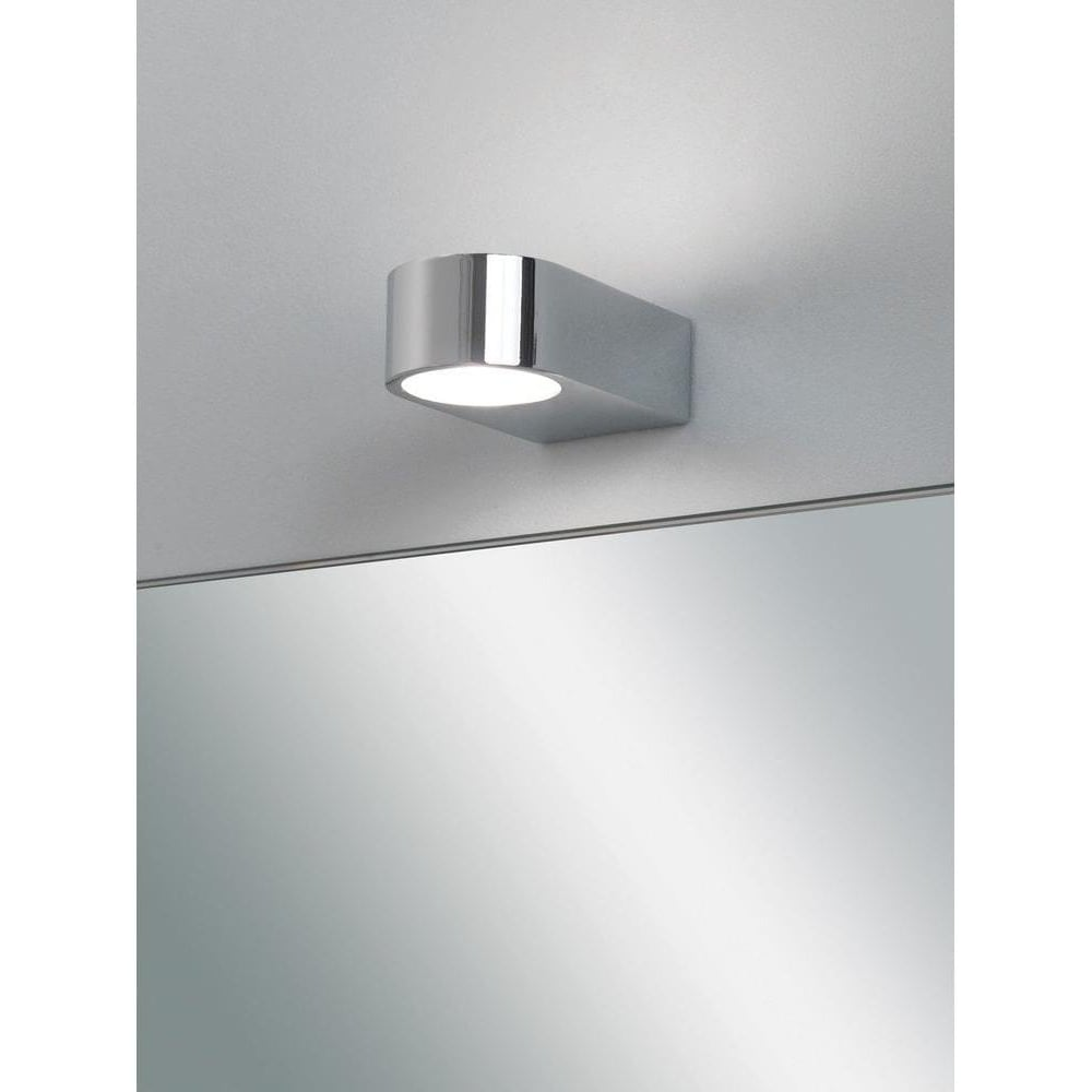 Modern Vanity Lighting Chrome : Astro Lighting 0600 Epsilon Modern Bathroom Wall Light In Chrome - Lighting from The Home ...