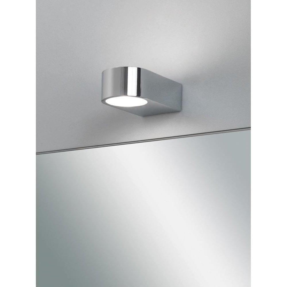 4 Epsilon Modern Bathroom Wall Light In Chrome