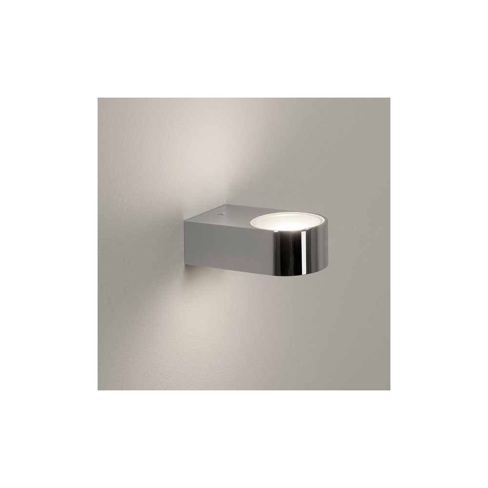Modern Vanity Lighting Chrome : Astro Lighting 0600 Epsilon Modern Bathroom Wall Light In Chrome - Astro Lighting from The Home ...