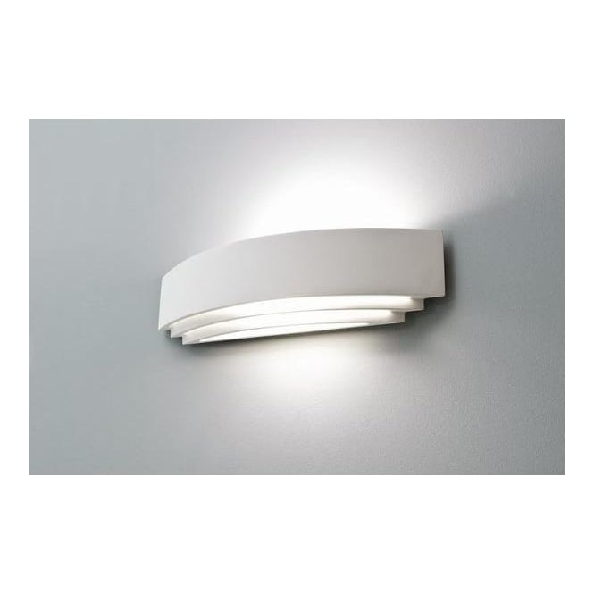 0617 Amalfi Plus 520 Art Deco Low Energy Wall Light
