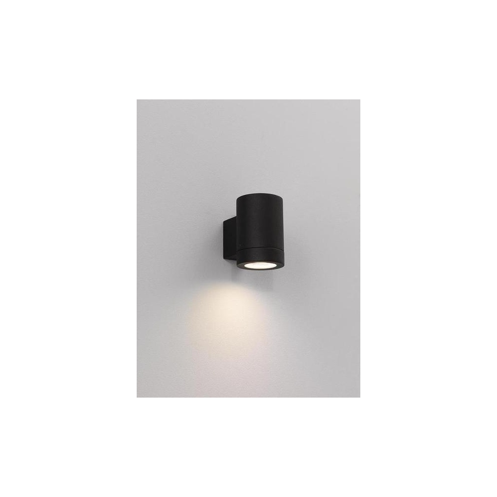 Astro Lighting 0624 Porto Plus Low Energy Single Black Exterior Wall Light - Lighting from The ...