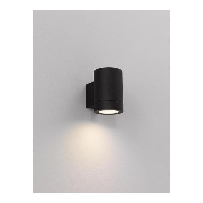 Low Energy Exterior Wall Lights : Astro Lighting 0624 Porto Plus Low Energy Single Black Exterior Wall Light - Lighting from The ...