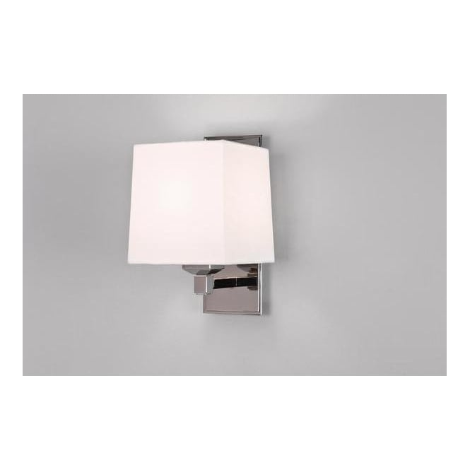 0634 Lambro Plus Nickel Low Energy Wall Light With a Choice of Shade