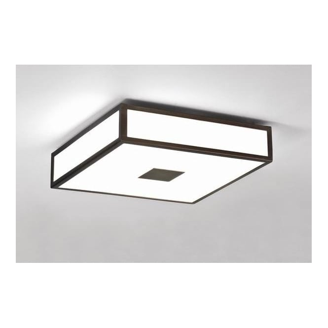 Astro Lighting 0639 Mashiko bronze low energy bathroom ceiling light, IP20