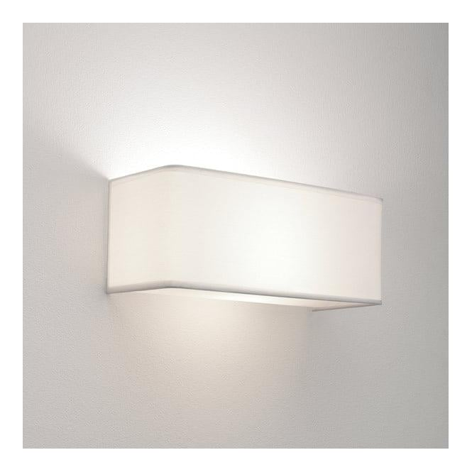 Astro Lighting 0767 Ashino Wide White Modern Wall Bracket