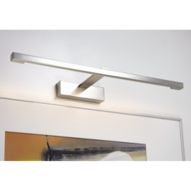 0797 Teetoo 550 Contemporary Picture Wall Light In Nickel