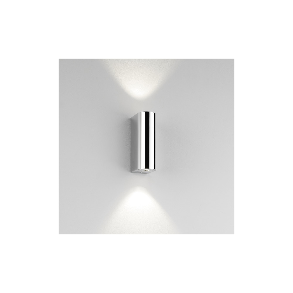 Astro lighting 0828 alba modern led double bathroom wall light in astro lighting 0828 alba modern led double bathroom wall light in chrome lighting from the home lighting centre uk aloadofball Images