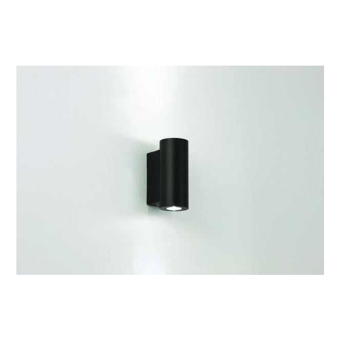 Astro Lighting 0835 Detroit LED Twin Black Exterior Wall Light
