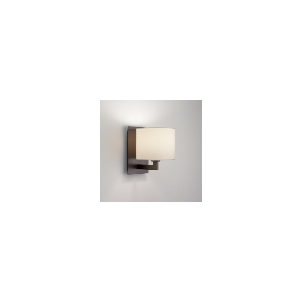 Wall Light With Bracket : Astro Lighting 0859 Olan 1 Light Bronze Wall Bracket With Optional Shades - Lighting from The ...
