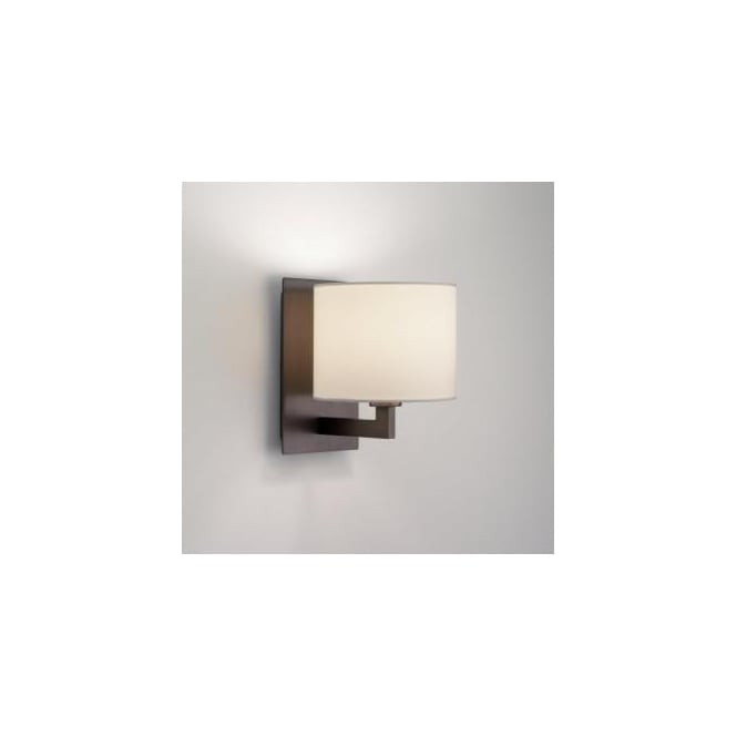 Astro Lighting 0859 Olan 1 Light Bronze Wall Bracket With Optional Shades