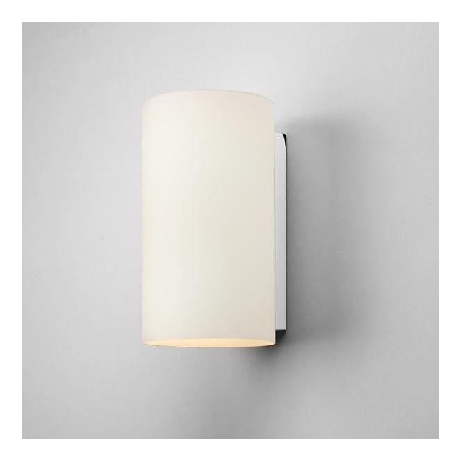 Astro Lighting 0884 Cyl 260 1 Light Cylindrical White Glass Wall Bracket