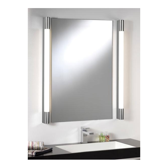 Astro Lighting 0907 Palermo 600 Modern Chrome Bathroom Wall Light