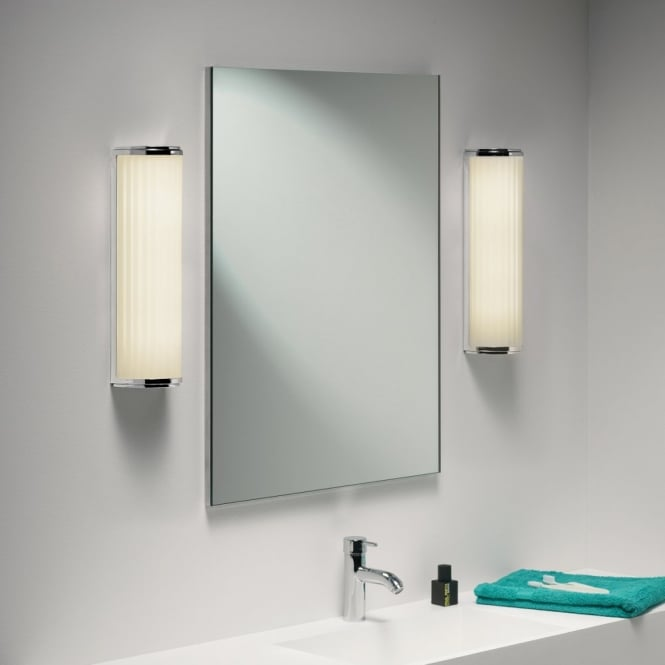 Astro Lighting 0915 Monza Plus 400 Polished Chrome Wall Light - Low Energy