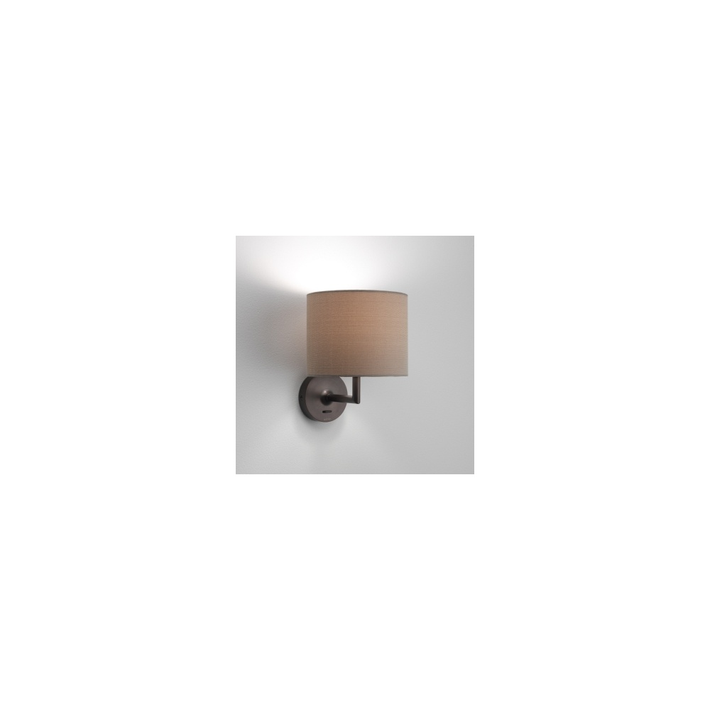 Wall Light With Bracket : 0923 Appa Solo 1 Light Bronze Wall Bracket - Lighting from The Home Lighting Centre UK