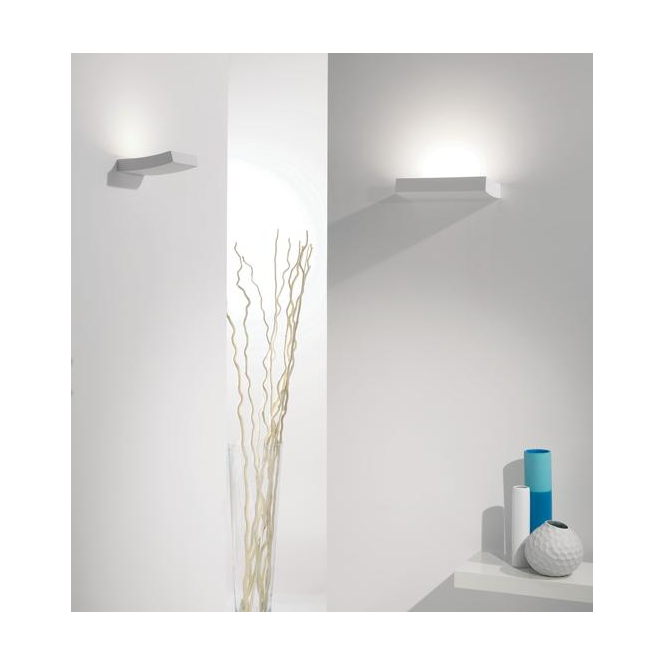 Astro Lighting 0953 Naxos LED Low Energy White Contemporary Wall Light