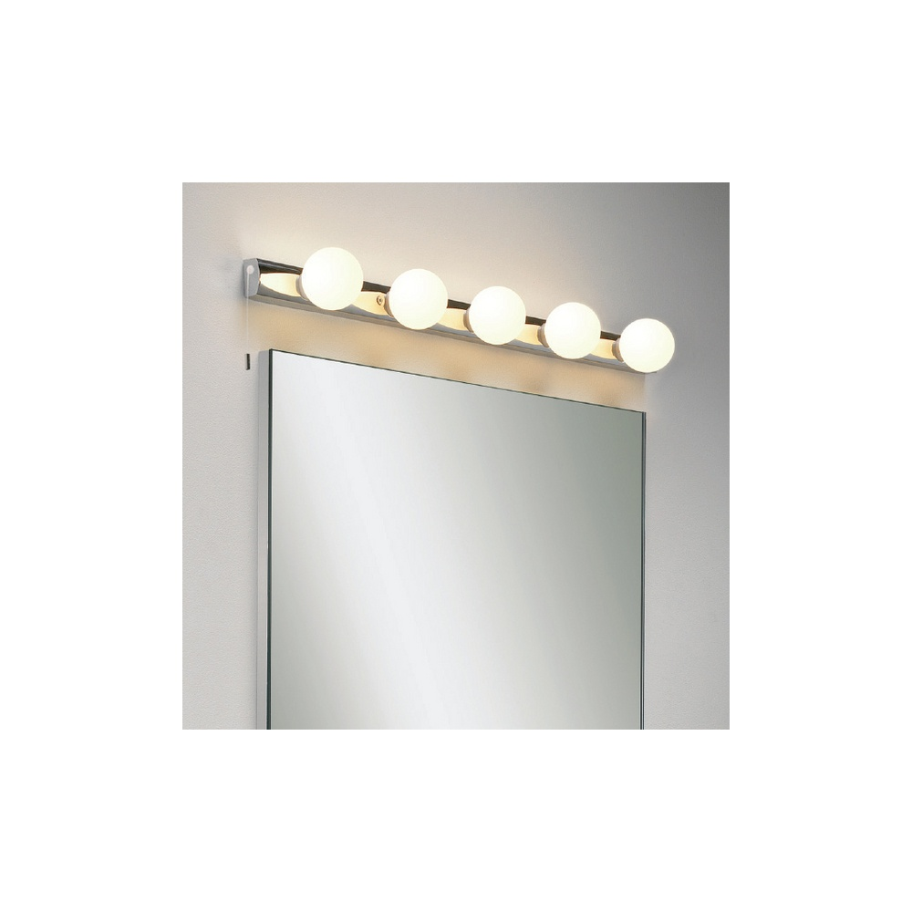 Wall Lights For Shower Room : Astro Lighting 0957 Cabaret 5 Dressing Room Style Bathroom Wall Light IP44 - Lighting from The ...