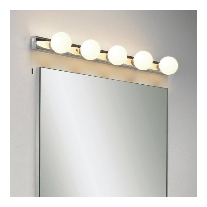 Astro Lighting 0957 Cabaret 5 Dressing Room Style Bathroom Wall Light IP44 - Lighting from The ...