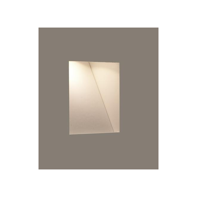 Astro Lighting 0977 Borgo Trimless 65 White Recessed Wall Light