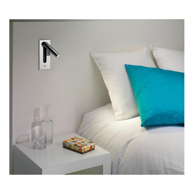 0998 Fuse Switched Anodised Aluminium Compact Wall Light