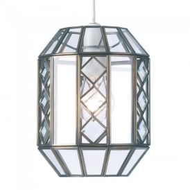 1216-AN Non-Electrical Glass Pendant Ceiling Light
