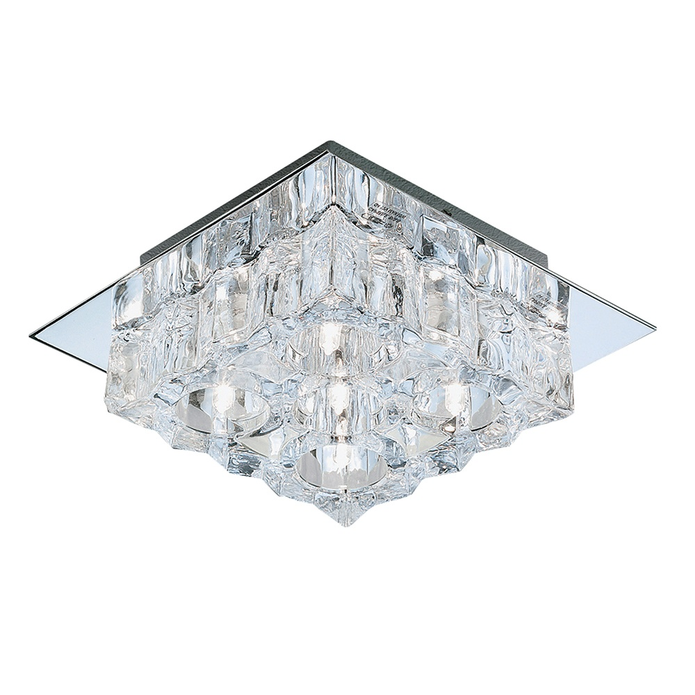 Searchlight 241 5cc cool ice halogen flush chrome 5 light ceiling 241 5cc cool ice halogen flush chrome 5 light ceiling fitting aloadofball Choice Image