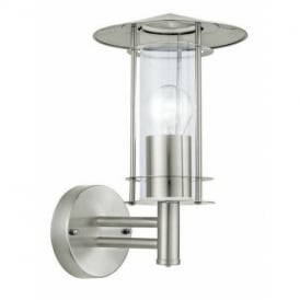 30184 Lisio Outdoor Stainless Steel Wall Light