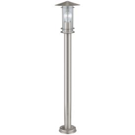 30188 Lisio Outdoor Large Stainless Steel Lamp Post