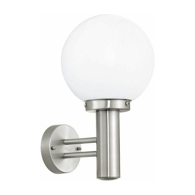 Eglo Lighting 30205 Nisia Outdoor Stainless Steel Wall Light