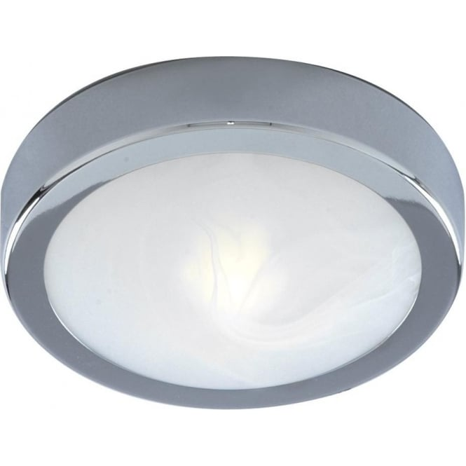 lighting in bathroom searchlight 3109cc chrome flush 25cm bathroom light ip44 13485