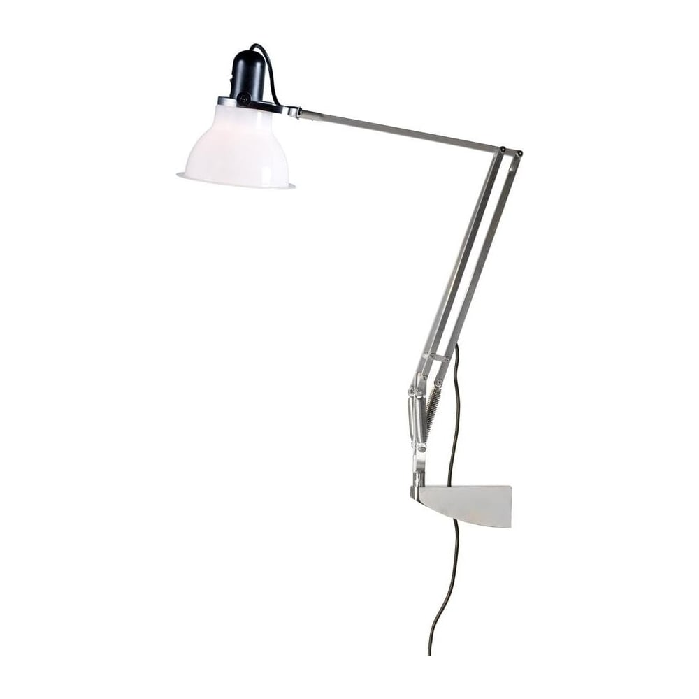 anglepoise 31317 type 1228 wall mounted adjustable light