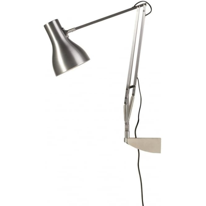 Anglepoise 31328 Type 75 Wall Mounted Adjustable Light in Brushed Aluminium