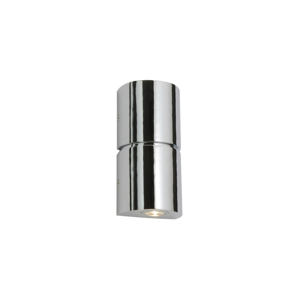 Saxby Lighting 35607 Flair LED Bathroom Chrome and Acrylic Twin Wall Light - Lighting from The ...
