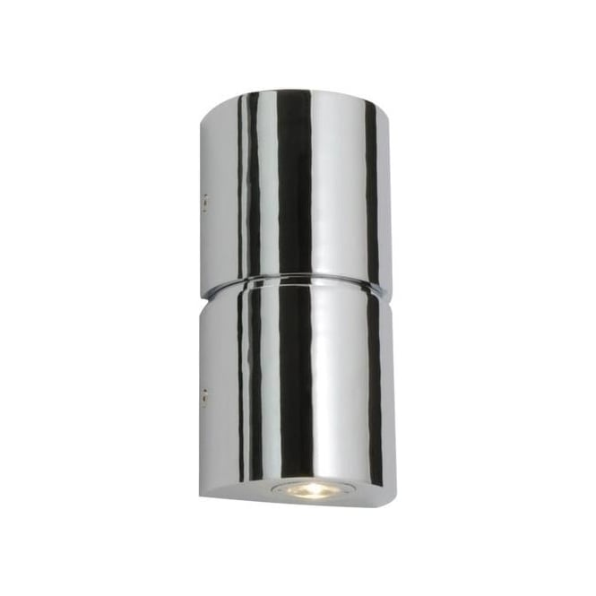 Saxby Lighting 35607 Flair LED Bathroom Chrome and Acrylic Twin Wall Light