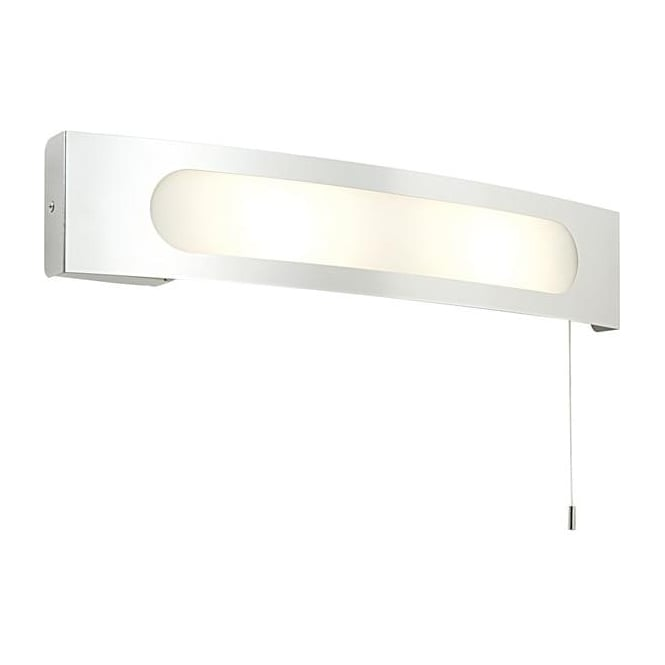 Saxby Lighting 39148 Convesso 2 Light Bathroom Switched Chrome Wall Light