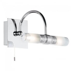 447 Bathroom Wall Light In Chrome