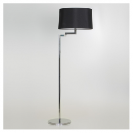 4530 Momo Contemporary Floor Lamp in Chrome