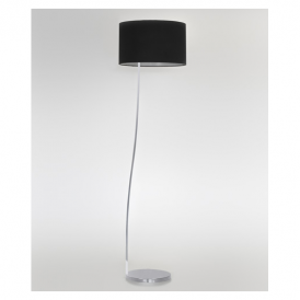 4533 Sofia Contemporary Floor Lamp in Chrome