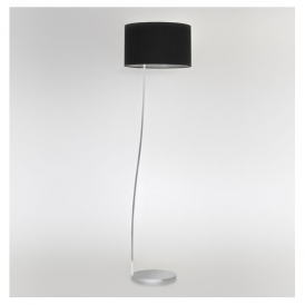 4534 Sofia Contemporary Floor Lamp in Matt Nickel