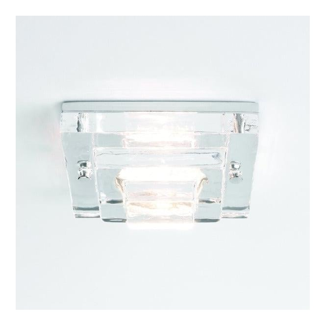 Astro Lighting 5514 Frascati Square 12v Ceiling Downlight With Glass Finish
